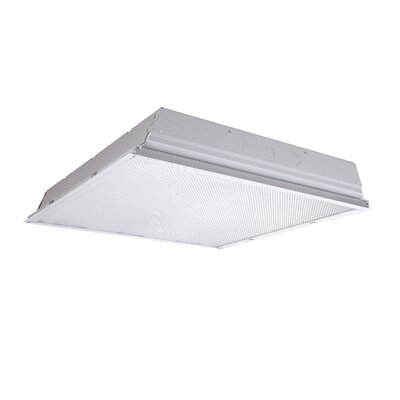 2-Light Fluorescent High Bay