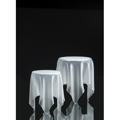 Grand Illusion End Table Finish: Ice White