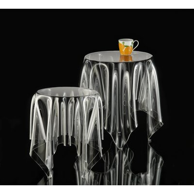 Grand Illusion End Table Color: Clear