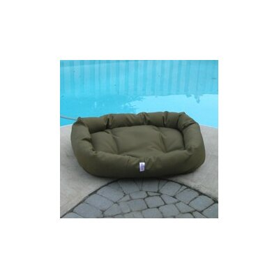 Mammoth Outdoor Donut Dog Bed - Color: Taupe Cordura, Size: Medium (33