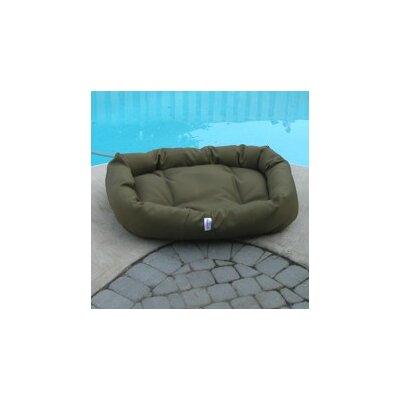 "Mammoth Outdoor Foam Donut Dog Bed - Color: Navy Cordura, Size: Medium (33"" L x 30"" W)"