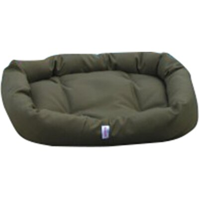 Outdoor Memory Foam Donut Dog Bed Color: Olive Cordura, Size: Small (24 L x 24 W)