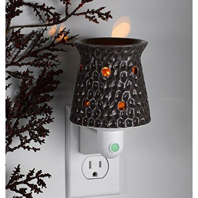 Lighted Ceramic Dented Night Light