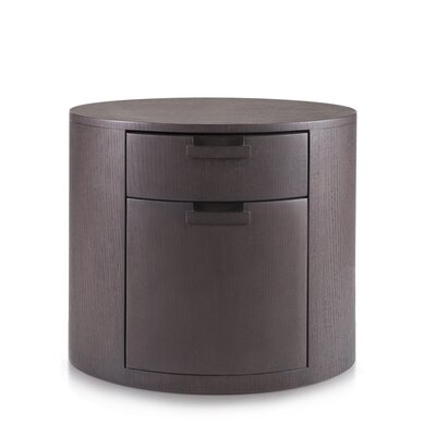 Arc 2 Drawer Nightstand