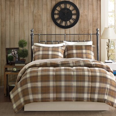 Lumberjack Comforter Set Size: Full / Queen