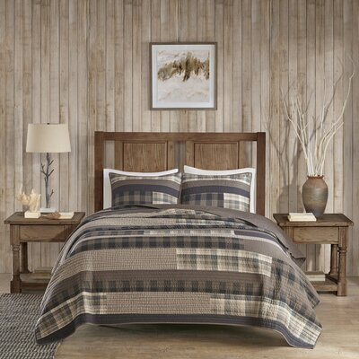 Winter Plains 3 Piece Quilt Set Size: King/Cal King