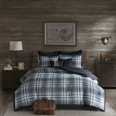 Bernard 8 Piece Comforter Set Size: King