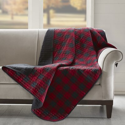 Woolrich Check Quilted Cotton Throw