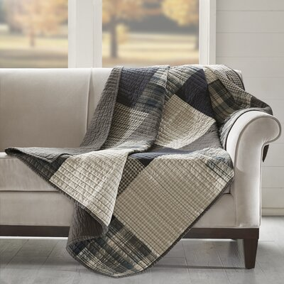 Winter Hills Quilted Cotton Throw