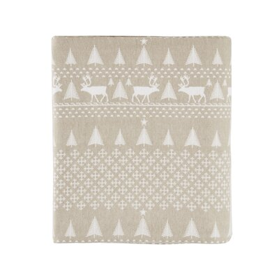 Printed 100% Cotton Sheet Set Size: Queen, Color: Tan