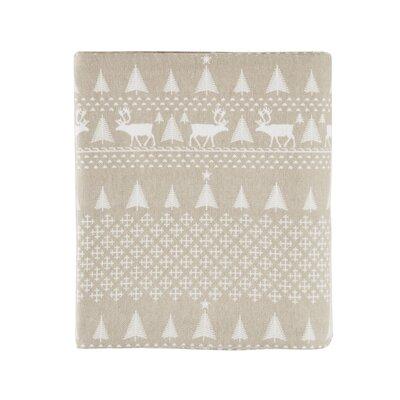 Printed 100% Cotton Sheet Set Size: California King, Color: Tan