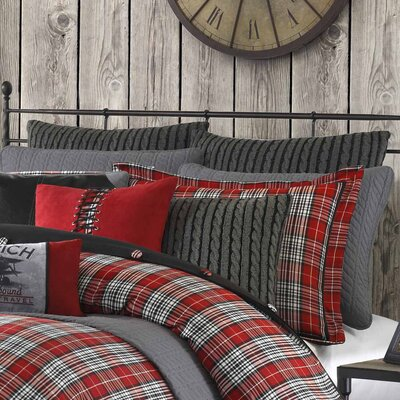 Williamsport Plaid Euro Sham