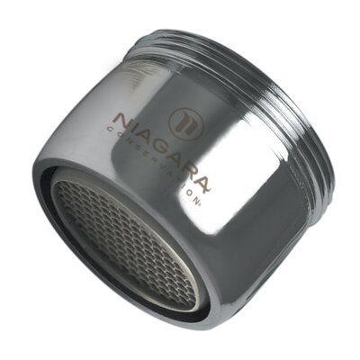 Dual Thread Standard Bubble Faucet Aerator Flow Rate: 1