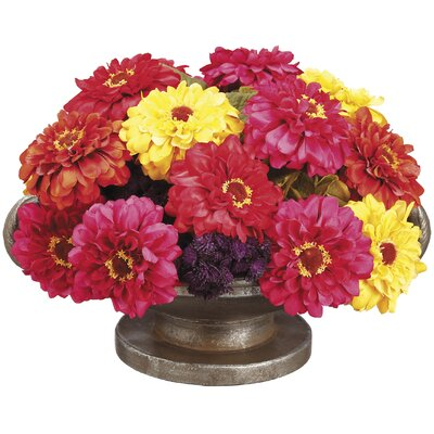 Mixed Floral Arrangement in Urn