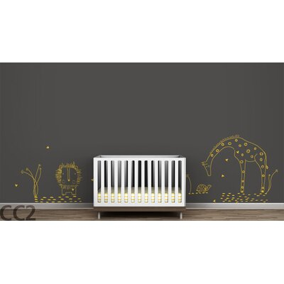 "LittleLion Studio Fauna ""You Are My Sunshine"" Wall Decal - Color: Yellow at Sears.com"