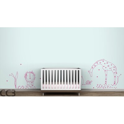 "LittleLion Studio Fauna ""You Are My Sunshine"" Wall Decal - Color: Hot Pink at Sears.com"