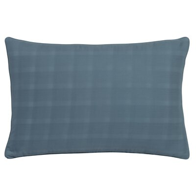 Glacier Bay Mirage Dobby Plaid Decorative Lumbar Pillow