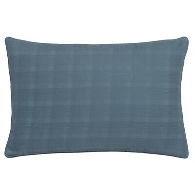 Glacier Bay Mirage Dobby Plaid Decorative Lumbar Pillow