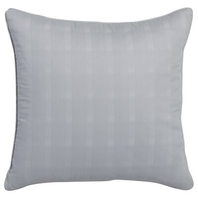 Glacier Bay Highrise Square Dobby Plaid Decorative Throw Pillow