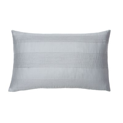 Windswept 100% Cotton Lumbar Pillow Color: Quarry Blue