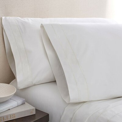 Denizen 275 Thread Count 100% Certified Organic Cotton Fitted Sheet Size: King, Color: Cloud