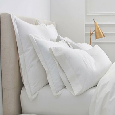 Denizen Square Sham Size: King, Color: Cloud