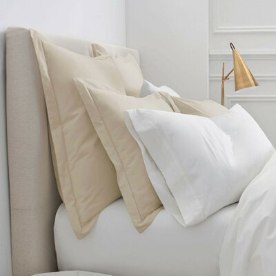Denizen Square Sham Size: Standard, Color: Oat