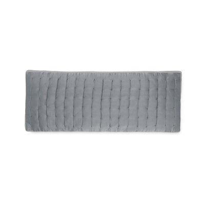 Aesthete Silk Throw Pillow Color: Slate