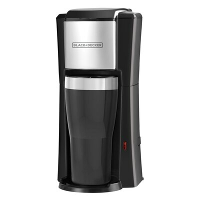 2-Cup Personal Coffee Maker with Travel Mug CM618