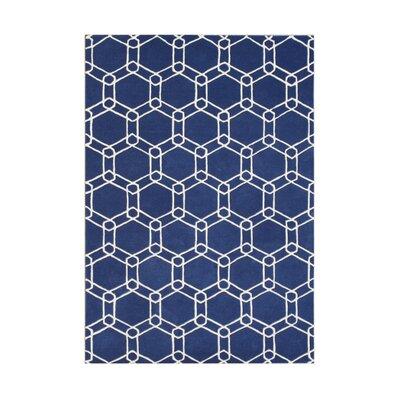 Mazrain Blue Rug Rug Size: 5' x 8'