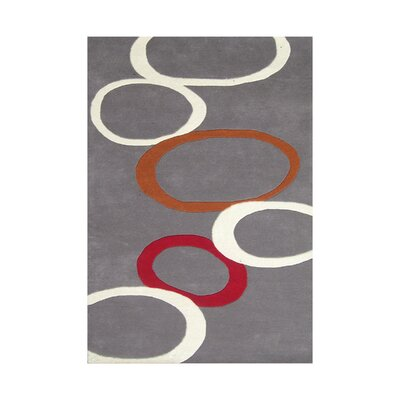 Beufort Hand Tufted Wool Gray Area Rug