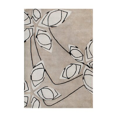 New Zealand Handmade Cuban Sand Area Rug Rug Size: Rectangle 5' x 8'