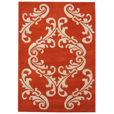 New Zealand Handmade Cherry Tomato Area Rug