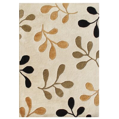 New Zealand Handmade Vanilla Area Rug