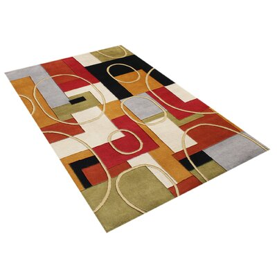 Alliyah Hand-Woven Multi-color Area Rug Rug Size: 8 x 10