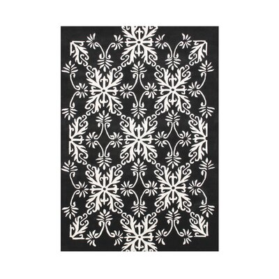 Kaori Hand Tufted Wool Off-White Area Rug Rug Size: Rectangle 5 x 8
