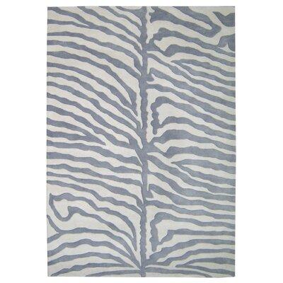 Alliyah Rugs New Casanova Grey & Ivory Safari Area Rug - Rug Size: 5' x 8' at Sears.com