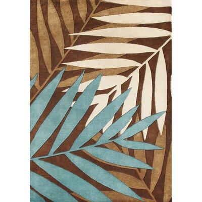 New Zealand Handmade Brown Area Rug Rug Size: 9' x 12'
