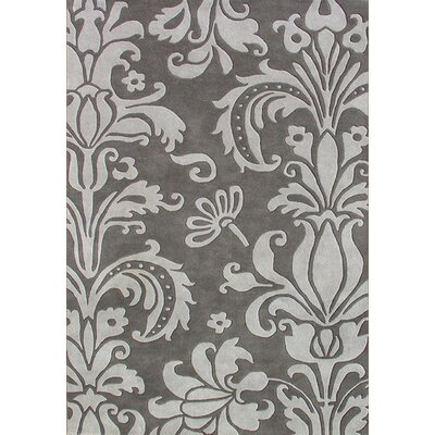 New Zealand Handmade Gray Area Rug Rug Size: 10 x 12