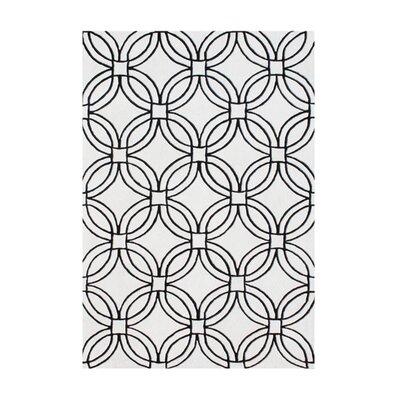 New Zealand Handmade Light Gray Area Rug