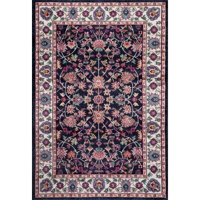 Loft Multi-color Area Rug Rug Size: 5'3