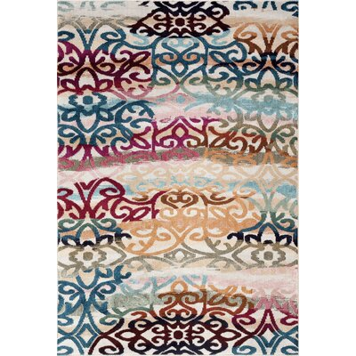Loft Multicolor Area Rug Rug Size: Rectangle 53 x 73