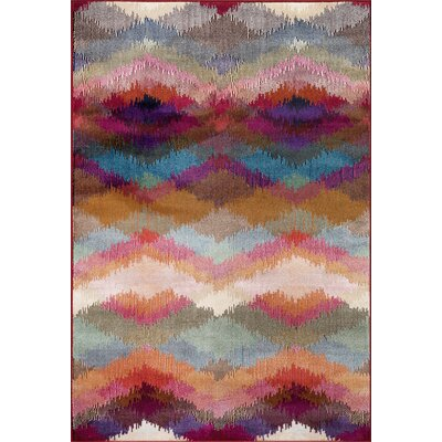 Loft Purple/Blue Area Rug Rug Size: Rectangle 33 x 5