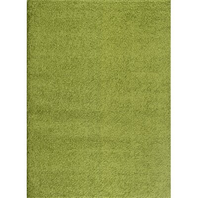 Caressa Green Area Rug Rug Size: 53 x 73