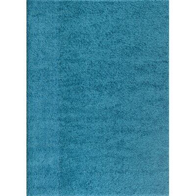 Caressa Turquoise Area Rug Rug Size: Rectangle 33 x 5