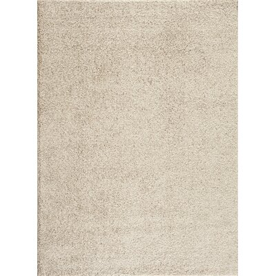 Caressa Cream Area Rug Rug Size: 5'3