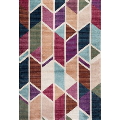 Loft Multi Indoor Area Rug Rug Size: 2 x 3