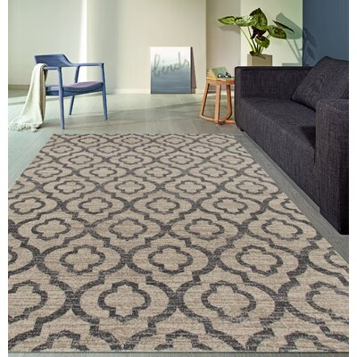 Elite Soft Cream Area Rug Rug Size: 7'10
