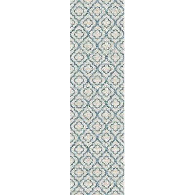 Elite Soft Blue Area Rug Rug Size: Runner 2 x 72