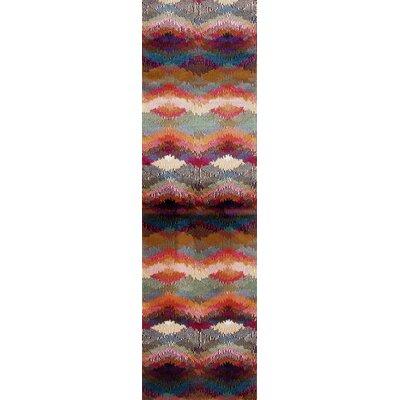 Loft Purple/Blue Area Rug Rug Size: Runner 2 x 72